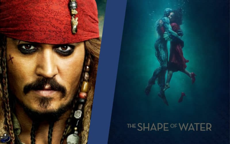 Pirates of the Caribbean Shape of Water substantial similarity cases