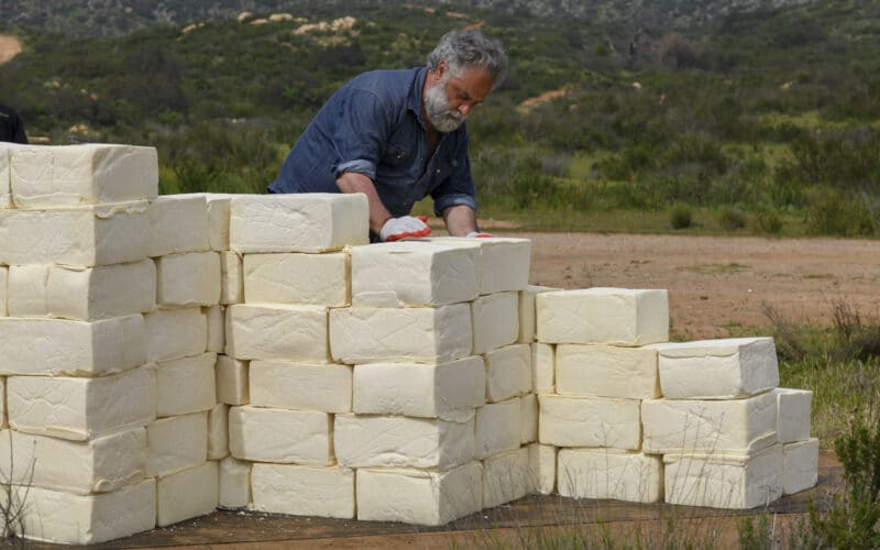 Cosimo Cavallaro has filed a lawsuit under the Visual Artists Rights Act (VARA) after his border wall, made entirely of Mexican cheese, was destroyed by federal contractors