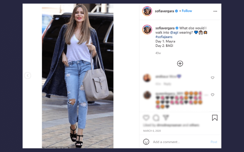 After failing to defend a copyright infringement lawsuit, actress Sofia Vergara was ordered to pay $750 in statutory damages, which is substantially less than the plaintiff photographer was seeking.
