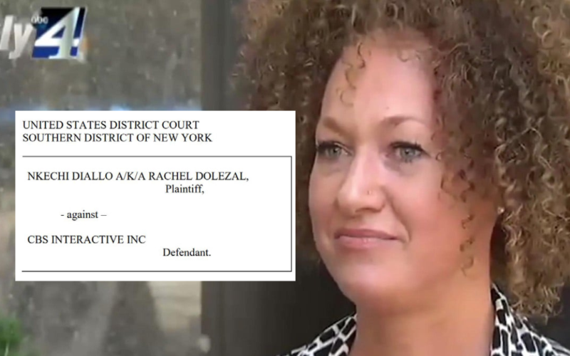 Rachel Dolezal, the woman accused of misrepresenting her racial background has filed a new infringement lawsuit against CBS Interactive. Is she weaponizing copyright?