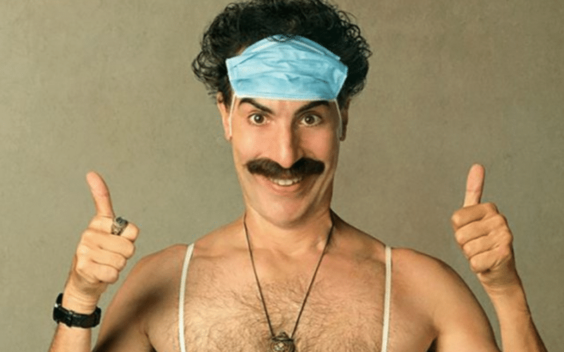 In a new lawsuit, Sacha Baron Cohen, who claims he's never used cannabis in his life, objects to Solar Therapeutics' unpermitted use of both the copyrighted Borat character and his own likeness on a Massachusetts billboard